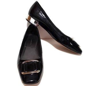 Tahari Kiki Patent Leather Block Heel Shoe 8.5M